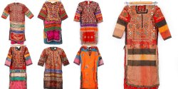 Hand Embroidery Cotton Vintage Kurta