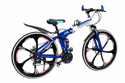 bmw blue sports bicycle folding cycle rs 15500 piece. Black Bedroom Furniture Sets. Home Design Ideas