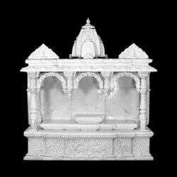 白色印度大理石寺庙