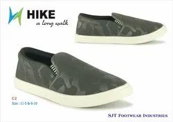 Casual Wear C 2 HIKE GREY canvas shoes