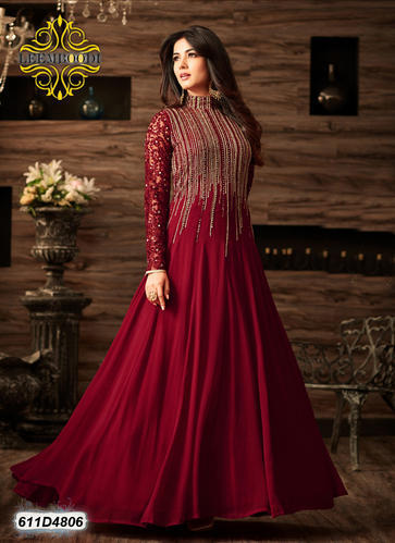 830ebe72fce08c Free Size Red Designer Party Wear Dress, Rs 2700 /piece, Leemboodi ...