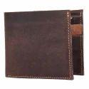 Brown Genuine Leather Genuine Hunter Leather Wallet