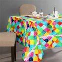 Custom Digital Design Printed Cotton Table Cloths