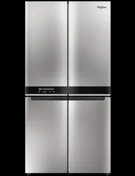 Stainless Steel Whirlpool W Series 4 Door 677 Ltrs Saturn Steel Refrigerator