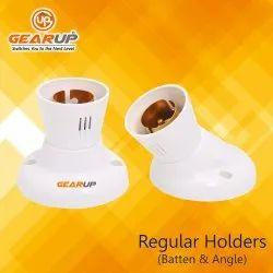 Gear-Up White Regular Angle / Batten Holder