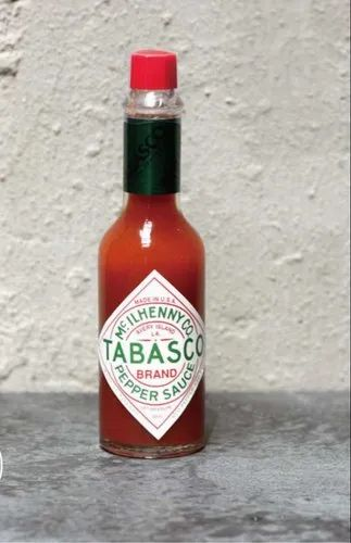 Tabasco Red Pepper Original Sauce, 60ml, Packaging Type: Glass Bottles, Rs 123 /bottle | ID: 21745541148