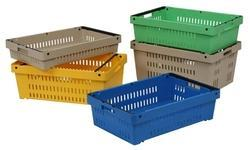 Nestable and Stackable Crates