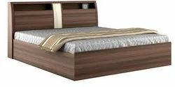 Storage Box Wooden Double Bed