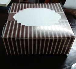 Printed Common Cake Box