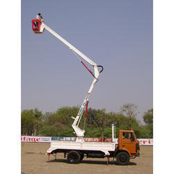 Telescopic Electric Sky Lift, for Industrial Premises