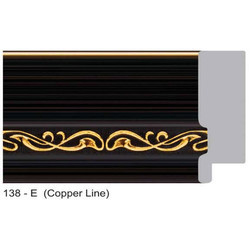 138-E Series Copper Line Photo Frame Molding