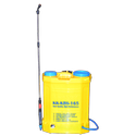 Plastic Kisankraft Kk-kbs-165 Battery Powered Knapsack Sprayer