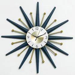 Analog Metal Wall Clock India