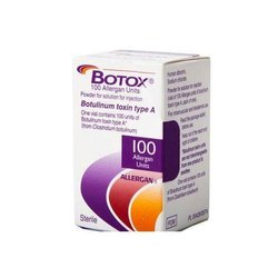 Botulinum Toxin Type A Botox Injectio For Hospital, Packaging Size: 1 Vial (100 Allergan Units)