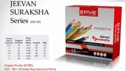 B five Blue 1mm Electrical Wire, 1100, Wire Size: 90 Metre