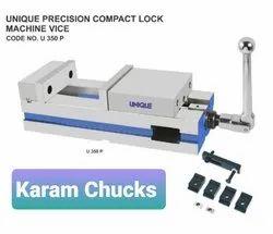 Unique Ductile Iron Precision Compact Lock Machine Vice, Model Name/Number: U 350 P, 6 Inch