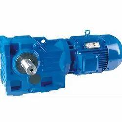 GKS Helical Bevel Geared Motor