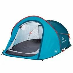 Quechua Two Person Blue Arpenaz Camping Tent