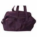 Rayon Black Printed Travel Bag