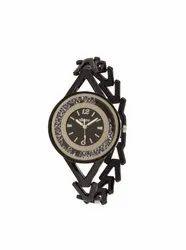 Brown Belt Brown Dail Ladies Wrist Watch