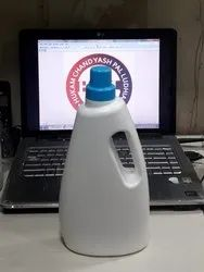 1000 ml White Liquid Detergent Bottle