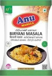 Anu Brown Biryani Masala, Packaging Size: 50 g,20 g, Packaging Type: Packet