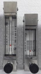 Low Flow Glass Tube Rotameter Panel Mount