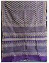 Purple Printed Saree For Women