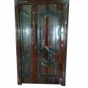 Wooden Finish Steel Door