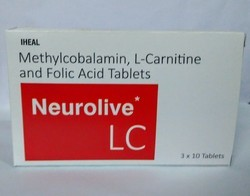 Methylcobalamin, L-Carnitine and Folic Acid Tablets