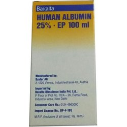 Baxalta Human Albumin