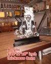 Acrylic  Led Lord Krishna