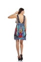 Silk Viscose Luxury Resort & Party Wear Collection Short Dress