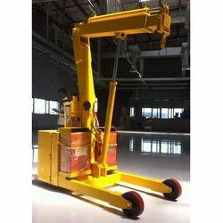 Automatic Hydraulic Mobile Floor Crane