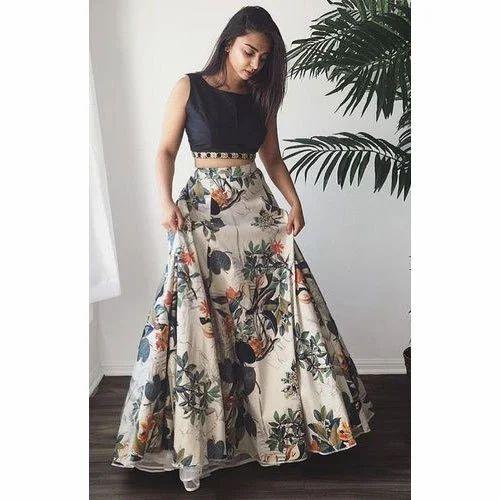 Banglori Silk Printed Ladies Party Wear Lehenga Choli Rs 549 Piece Id 20354878497