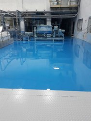 2000 Industrial Epoxy Self Leveling Flooring, Corporate Building