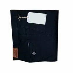 Casual Plain Men's Designer Cotton Trousers