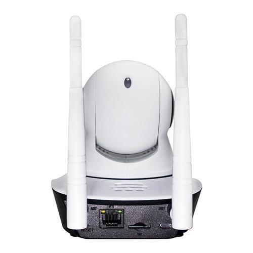 Wireless IP P2P Robot Camera Double Antenna