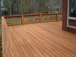 Outdoor Deck Flooring Tile, Thickness: 6 To 10 mm