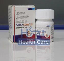 Daclacure Daclatasvir Dihydrochloride 60mg