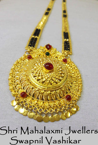 916 hallmark gold antique mangalsutra pendants rs 150000 piece 916 hallmark gold antique mangalsutra pendants aloadofball Image collections