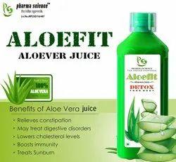 Pharmascience Aloe Vera Juice, Packaging Size: 1000 ml, Type Of Packaging: Bottle