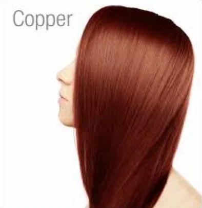 Copper Henna Hair Colour Powder For Personal Id 20432191055