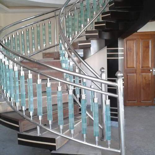Panel Decorative Stainless Steel Stair Railing Rs 650 Running Feet