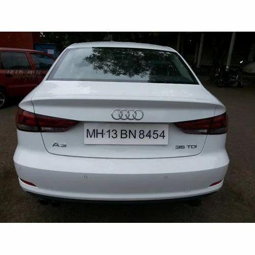 Chrome Car Number Plate At Rs Piece Car Registration Plate - Audi car number