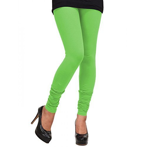 3493594f80898 Ruzzell Cotton Ladies Neon Green Leggings, Size: Small, Medium, Large, XL