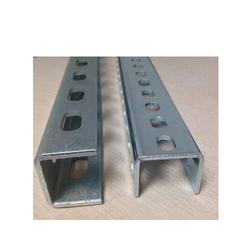 Mild Steel Slotted Channel, Thickness: 2 mm