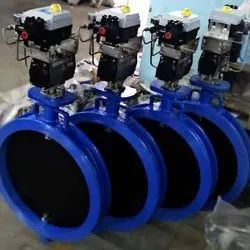 Revo Actuated Butterfly Valve