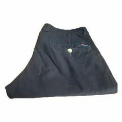 Plain Casual Wear Men Cotton Trouser
