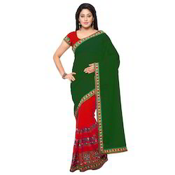 Riva 5 Georgette Saree